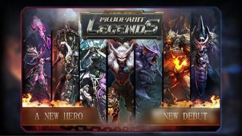 Aplikasi Mojopahit Legends game pahlawan