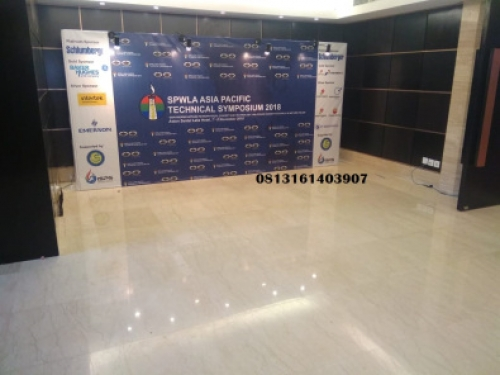 Sewa Backdrop partisi pameran